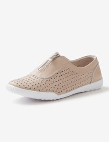 Rivers Leathersoft Zip Sneaker