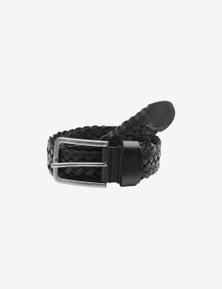 Rivers Woven Leather Belt