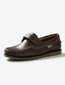 Rivers Leather Velcro Boat Shoe