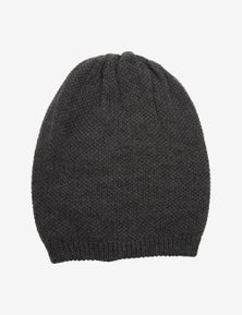 Rivers Textured Reversible Beanie