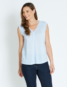 Rivers Placket Detail Tank