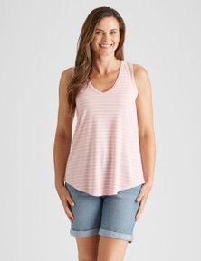 Rivers V Stripe Tank