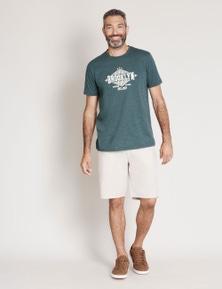 Rivers Short Sleeve Crew Printed Tee - Brooklyn
