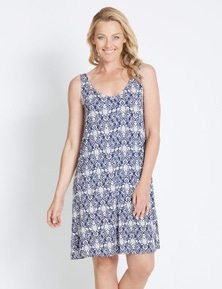 Rivers Sleeveless Lattice Back Jersey Midi Dress