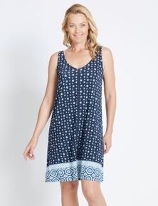 Rivers Sleeveless Lattice Back Jersey Midi Dress