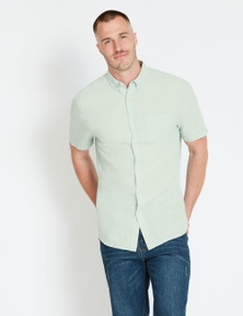 Rivers Short Sleeve Linen Cotton Shirt