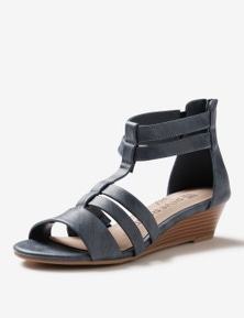Rivers Riversoft Strappy Zip Sandal