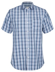 Rivers Short Sleeve Soft Touch Check Print