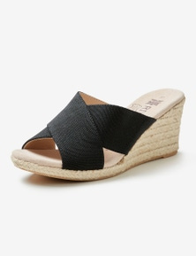 Riversoft Criss Cross Espadrille Wedge
