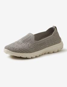 Rivers Barefoot Memory Foam Knitted Summer Slip On