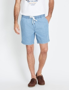 Rivers Volley Short - Light Weight Denim