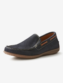 Rivers Suede Boat Loafer