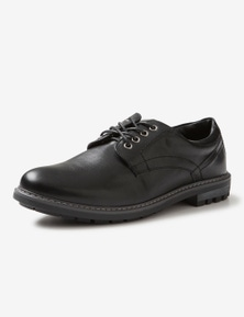 Rivers PU Lace Up Dress Shoe