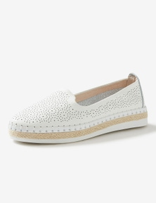 Rivers Leathersoft Perforated Slip On