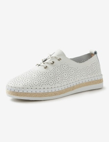 Rivers Leathersoft Perforated Lace Up