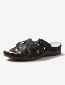 Rivers Leathersoft Strappy Mule