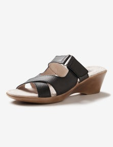 Rivers Leathersoft Wedge Mule