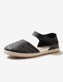 Rivers Leathersoft Two Part Espadrille