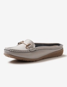Rivers Leathersoft Trim Mule