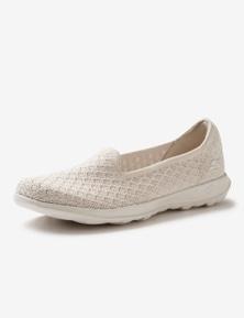 Skechers Womens Go Walk Lite Lulu Sneaker