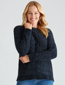 Rivers Chenille Cable Jumper