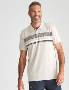 Rivers Stripe Performance Polo