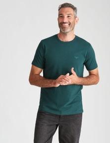 Rivers Short Sleeve Basic Crew Neck Tee - Fashion Colour