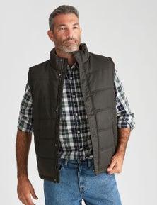 Rivers Wax Look Vest