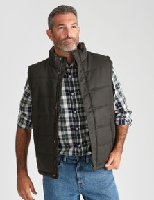 Rivers Wax Look Vest