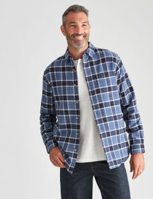 Rivers Long Sleeve Flannelette Check Shirt
