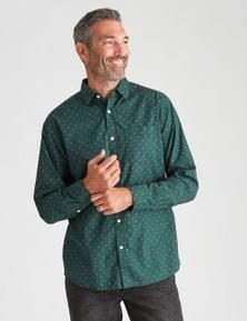 Rivers Long Sleeve Geo Print Shirt