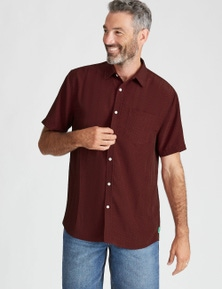 Rivers Soft Touch Geo Print Shirt