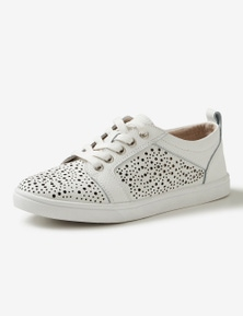 Rivers Leathersoft Lasercut Sneaker