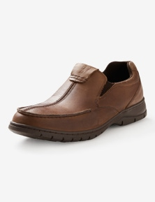 Rivers leather slip on