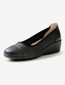 Rivers Leathersoft Slip On Wedge