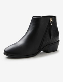 Riversoft Asymetric Mixed Material Boot