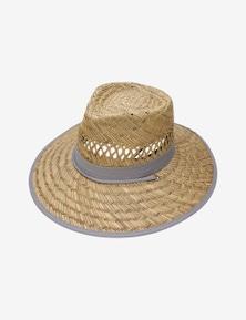 WIDE BACKYARD STRAW HAT