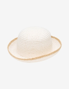 Rivers Paper Straw Bucket Hat