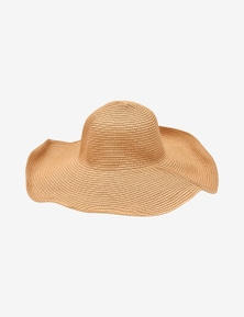 Rivers Extra Wide Wire Rim Straw Hat
