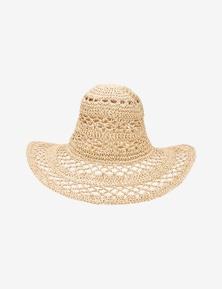 Rivers Floppy Woven Wide Brim Hat