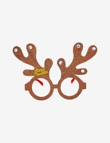 Rivers Gifting Xmas U Novelty Glasses Reindeer