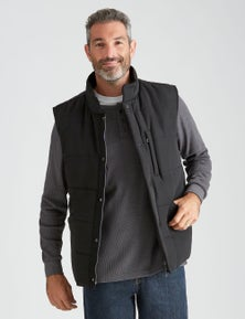 Rivers Padded Contrast Lined Vest