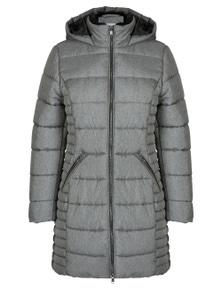 Rivers Longline Fur Hood Padded Jacket