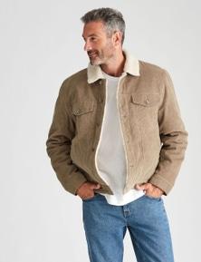 Rivers Sherpa Cord Jacket