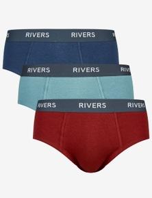 Rivers 3 Pack Brief