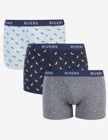 Rivers 3 Pack Boxer