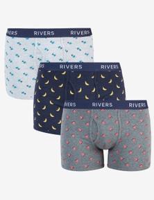 Rivers 3 Pack Boxer Fashion