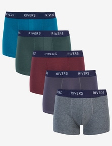 Rivers 5 Pack Boxer
