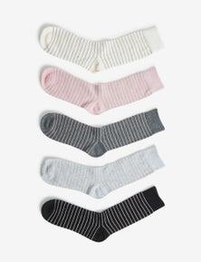 Rivers Metallic 5 Pack Sock