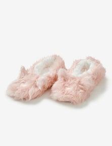 Rivers Lurex Bunny Slipper Sock